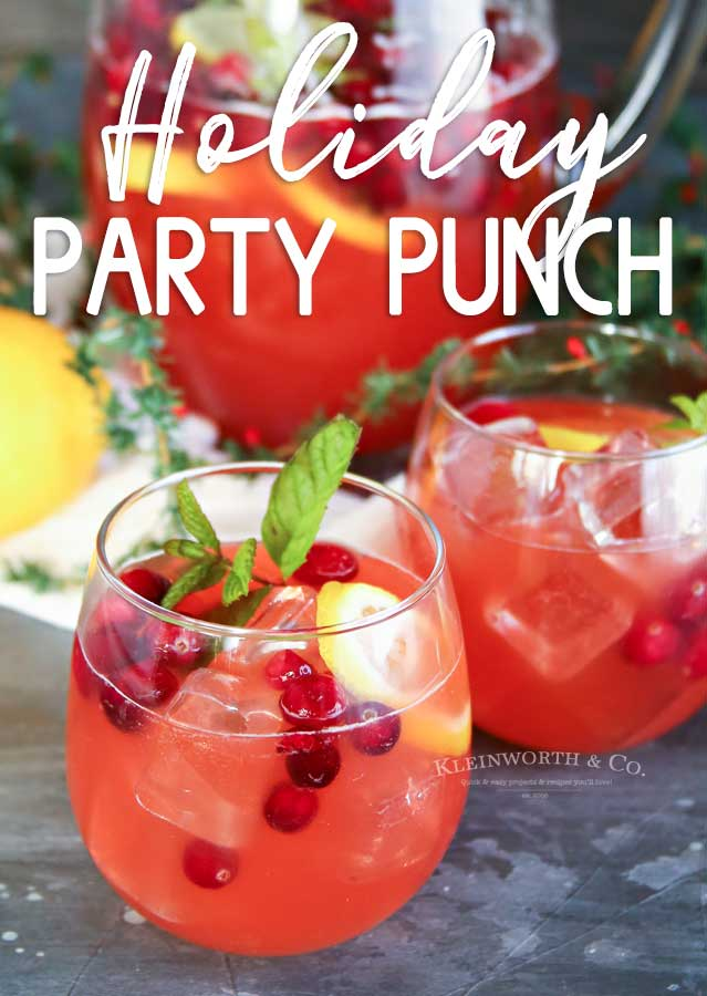 Holiday Party Punch