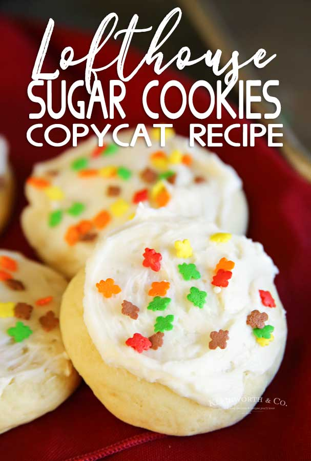 Fall Lofthouse Sugar Cookies - Copycat Recipe