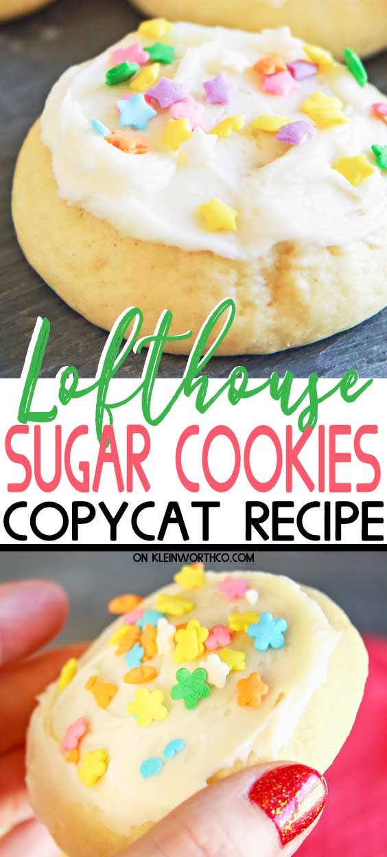 Spring Lofthouse Sugar Cookies - Copycat Recipe
