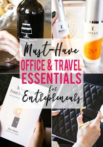 PIN - Must-Have Office & Travel Essentials for Entrepreneurs