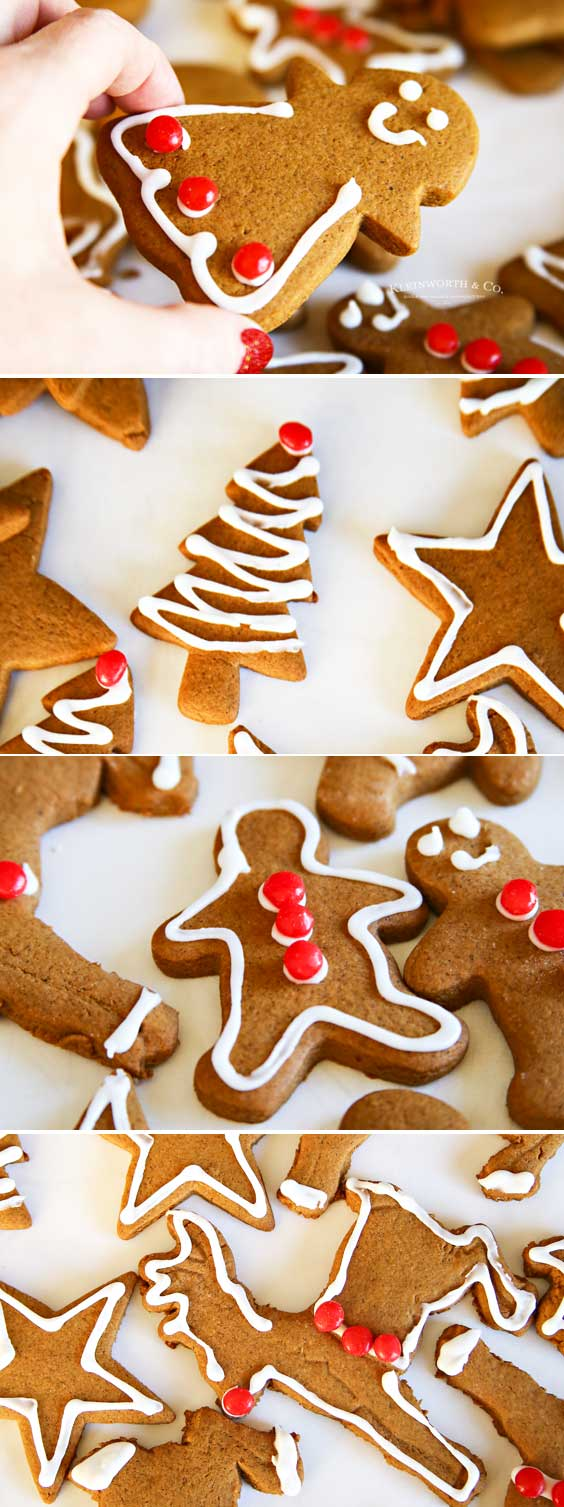 Soft Chewy -Gingerbread-Cookies
