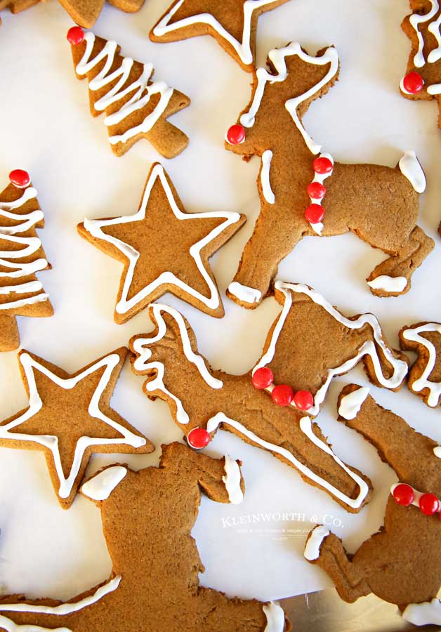 Assorted -Gingerbread-Cookies