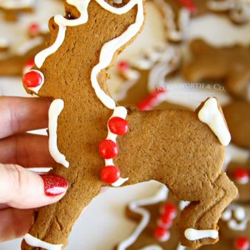 How to make Rudolph-Gingerbread-Cookies