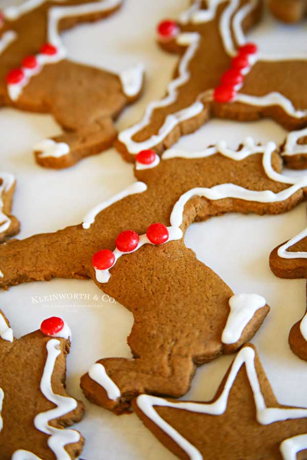 Rudolph-Gingerbread-Cookies Recipe