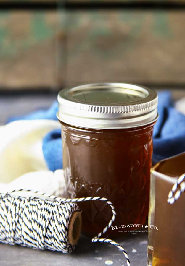 Crockpot Slow Cooker Salted Caramel Moonshine