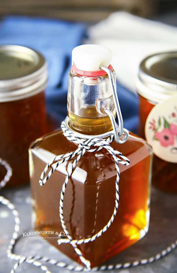 Homemade moonshine - Slow Cooker Salted Caramel Moonshine