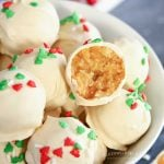 Sugar Cookie Truffles recipe