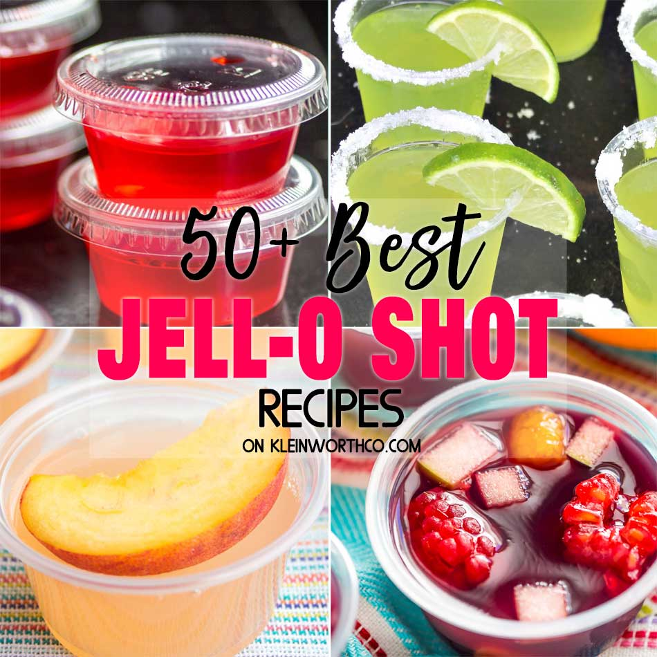 50 Best Jell-O Shot Recipes