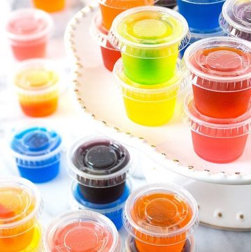 9 SENSATIONAL SUMMER JELLO SHOTS