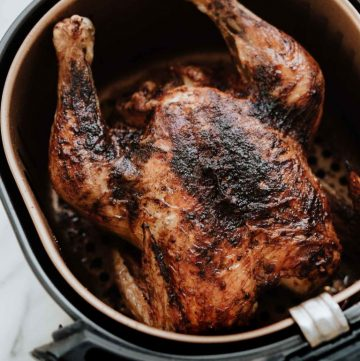 Air Fryer Whole Roasted Chicken