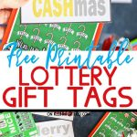 Lottery Gift Tags- Free Printable
