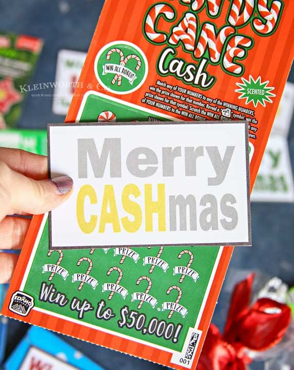 Merry Cashmas Gift Tags