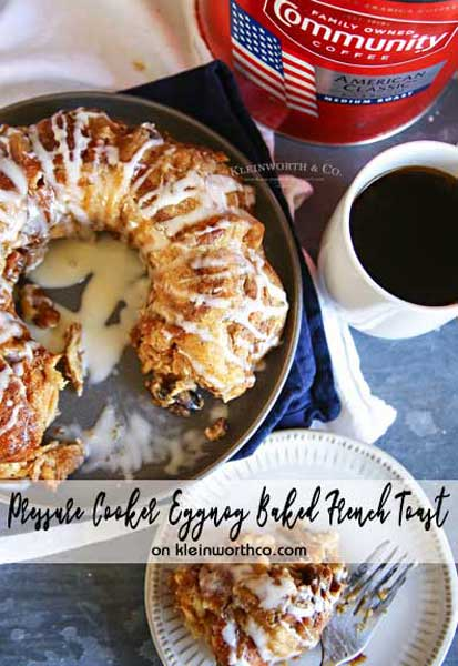 Baked French Toast - Instant Pot