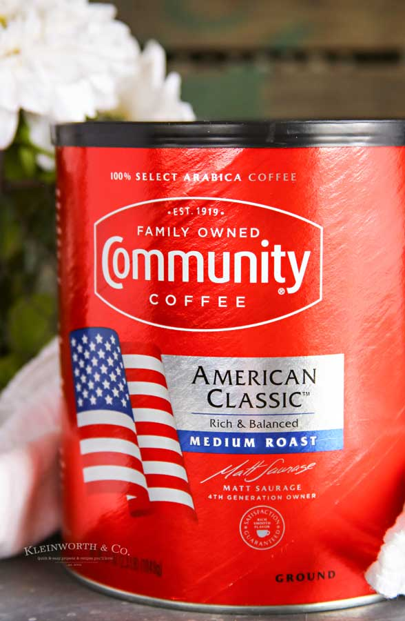 community coffee with French Toast