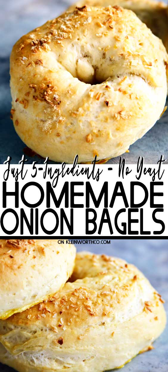 Homemade Onion Bagels