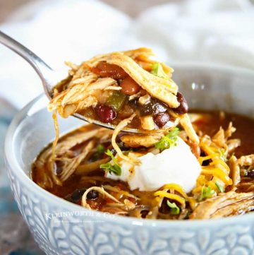 Pressure Cooker - Instant Pot Chicken Chili
