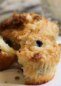 how to make Skinny Blueberry Muffins