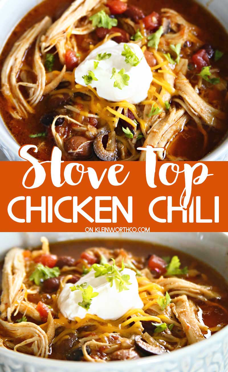 Stove Top Chicken Chili