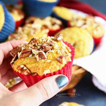 breakfast recipe - 3-Ingredient Banana Muffins