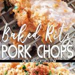 Baked Ritz Pork Chops