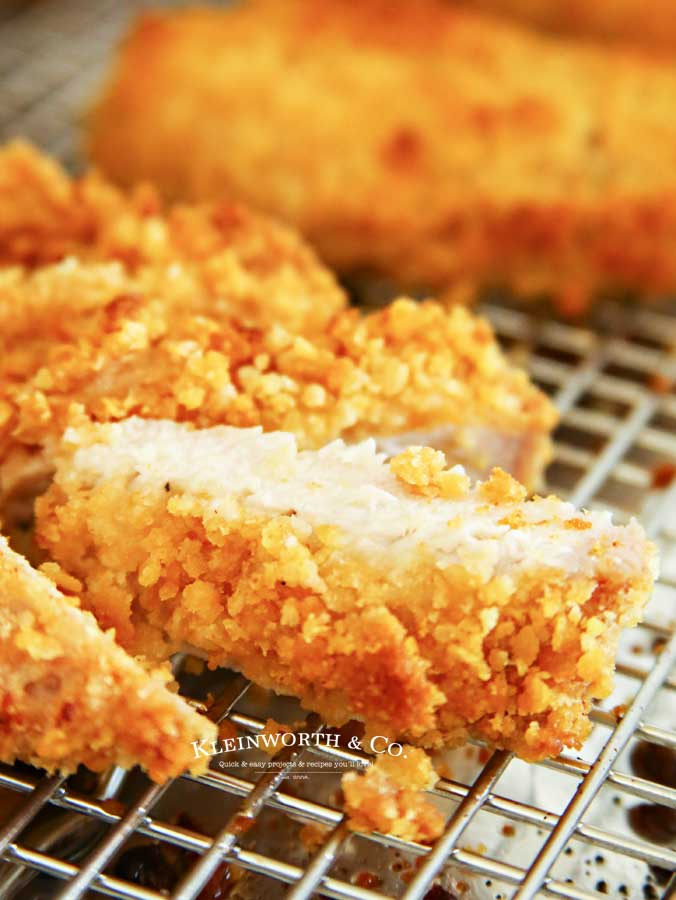 Quick & easy Baked Ritz Pork Chops