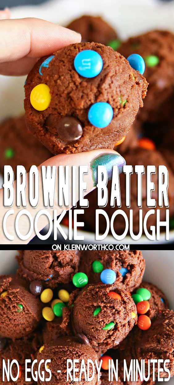 Brownie Batter Cookie Dough