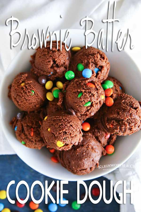 Brownie Batter Cookie Dough