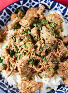 Instant Pot Beef Tips recipe