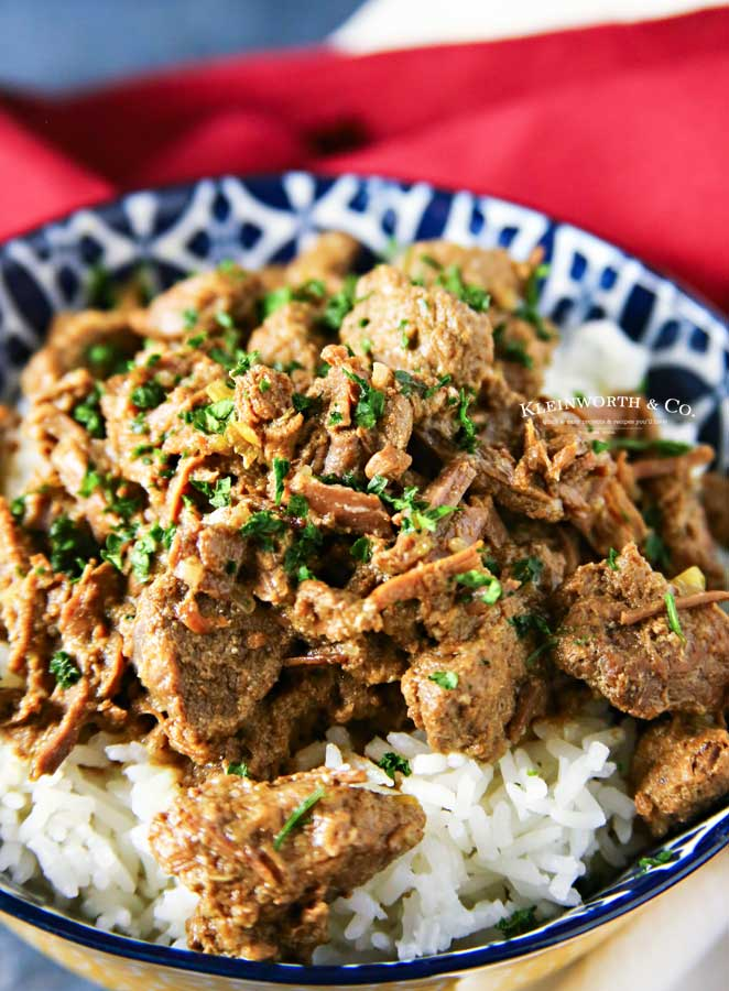 tender juicy Instant Pot Beef Tips