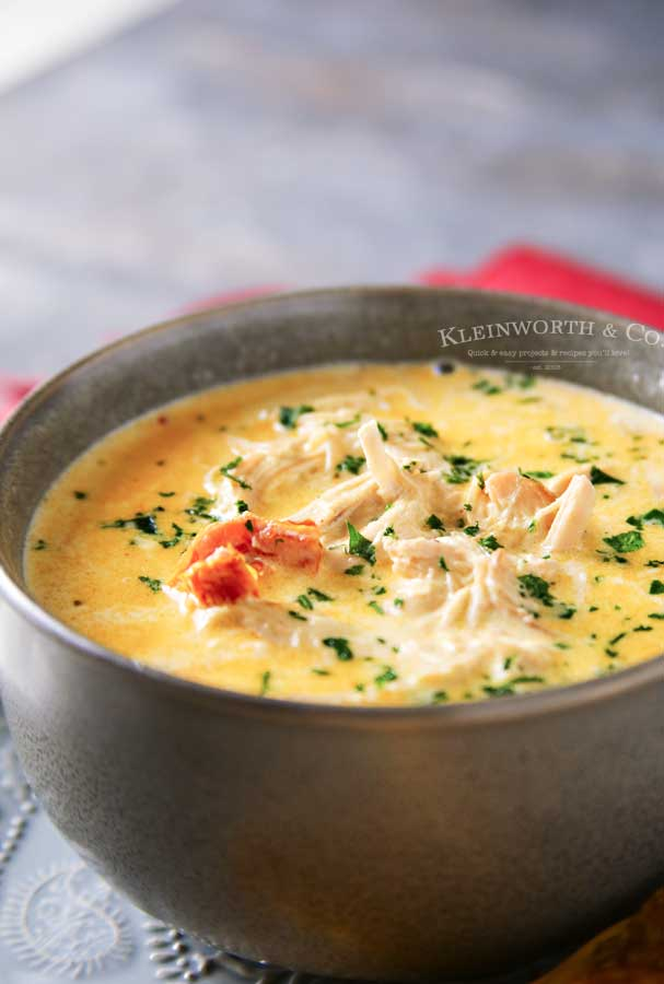 How to make Instant Pot Creamy Chicken Soup