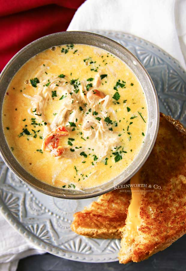 Instant Pot Creamy Chicken Soup recipe