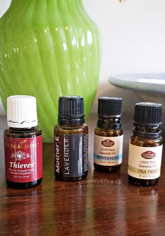 essential oils - homemade Hand Sanitizer