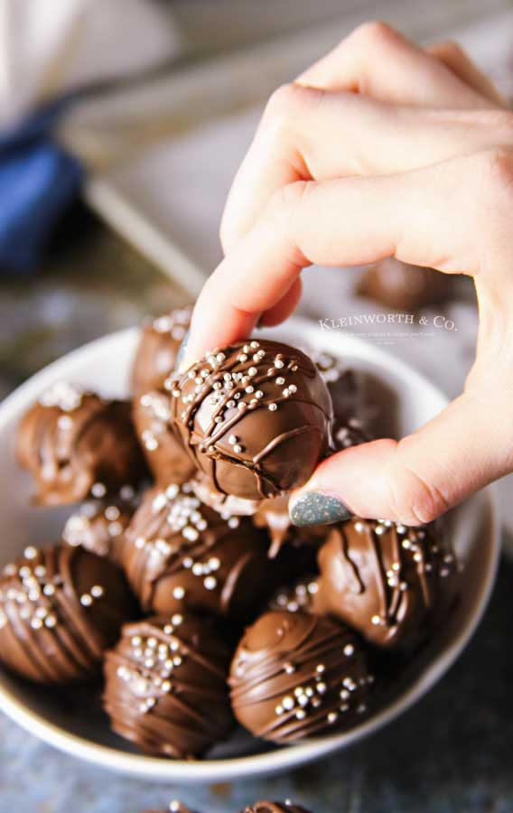 How to make Chocolate Chip Cookie Truffles