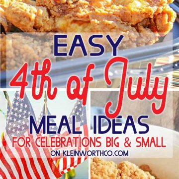 4th of July Meal Ideas