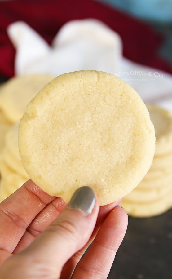 super easy sugar cookies