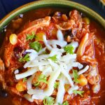 Chicken and Black Bean Taco Soup