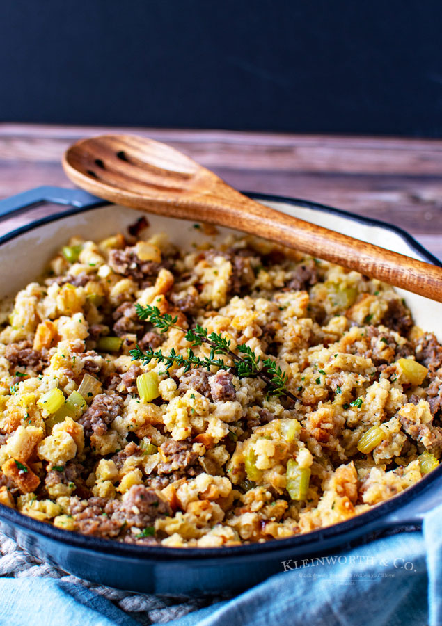 Holiday side dish - Sausage Stuffing