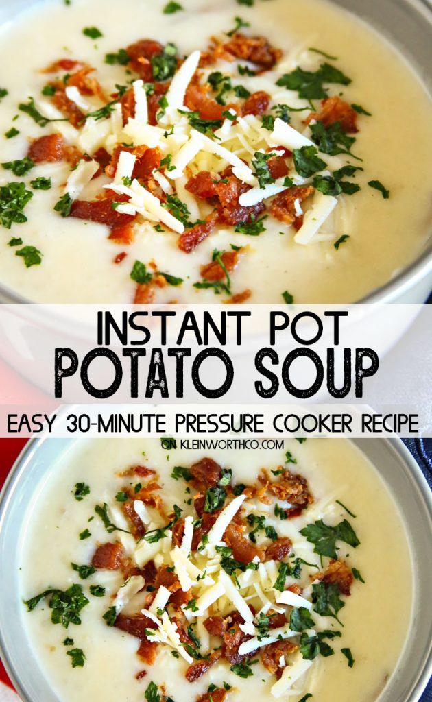 Best Pressure Cooker Potato Soup