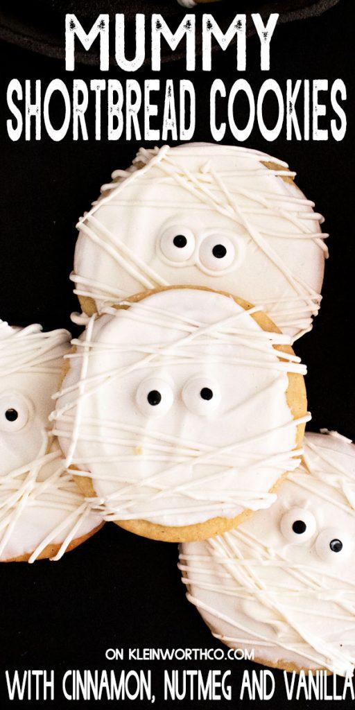Mummy Shortbread Cookies
