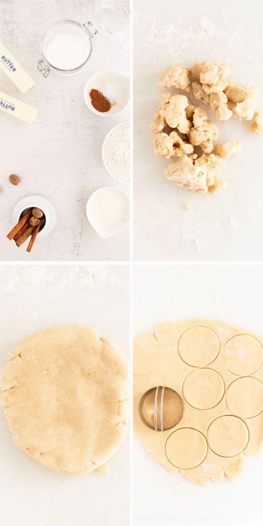 Halloween Shortbread Cookie Ingredients