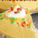 Easy No-Bake Pumpkin Cheesecake