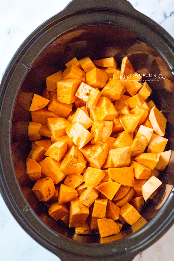 potatoes in the slow cooker sweet