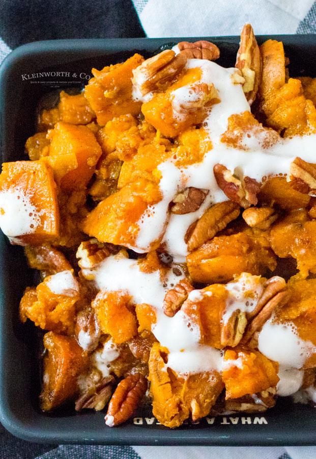 Sweet Potatoes in the Crock Pot