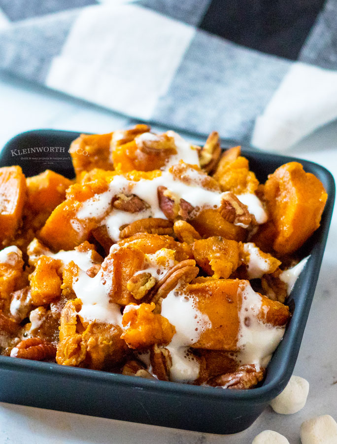 holiday side dish sweet potatoes