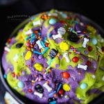 Halloween treat cookie dough
