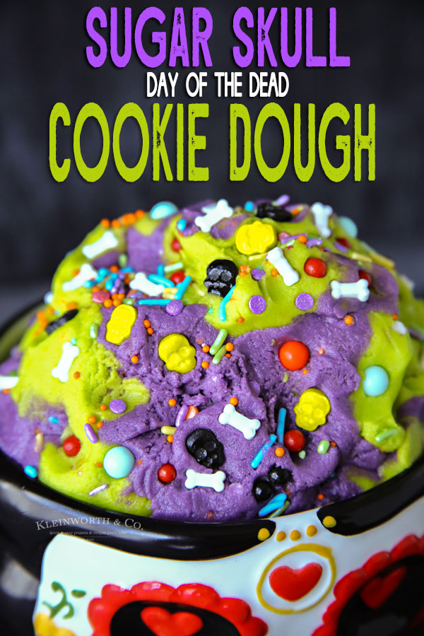Sugar Skull Cookie Dough