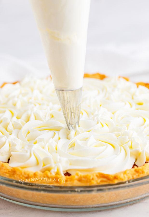 how to decorate pumpkin pie