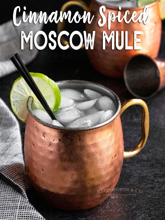 Cinnamon Spiced Moscow Mule