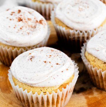 How to make Cinnamon Vanilla Bean Cupcakes