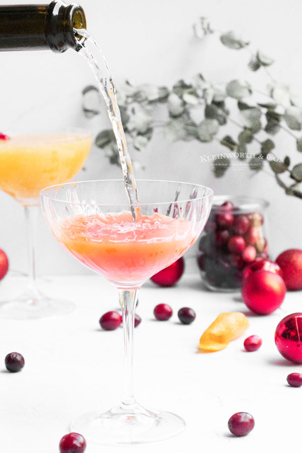 Cranberry Orange Champagner